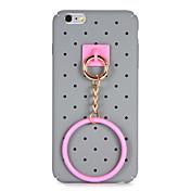 Para Manualidades Funda Cubierta Trasera Funda Diseño Geométrico Dura Policarbonato para AppleiPhone 7 Plus iPhone 7 iPhone 6s Plus