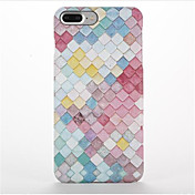 Funda Para Apple iPhone 7 Plus iPhone 7 Congelada Diseños Funda Trasera Diseño Geométrico Dura ordenador personal para iPhone 7 Plus