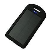 전원 은행 외부 배터리 5V 1.0A #A 배터리 충전기 플래쉬 라이트 멀티 출력 태양열 충전 LED