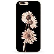 Funda Para Apple iPhone X iPhone 8 iPhone 8 Plus Diseños Funda Trasera Flor Suave TPU para iPhone X iPhone 8 Plus iPhone 8 iPhone 7 Plus