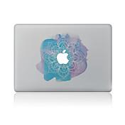 1 stk Hud Klistremerke til Motstår Risser Blomsternål i krystall Mønster PVC MacBook Pro 15'' med Retina MacBook Pro 15 '' MacBook Pro