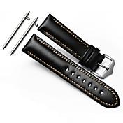 보안 금속 버클 버클 남자의 손목 시계와 기어 (S3)의 국경 고전 스트랩 시계 줄의 22mm 정품 가죽 시계 줄에 대한