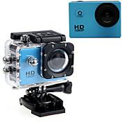"Action Kamera / Sportskamera 16MP 1280 x 720 1920 x 1080 640 x 480 USB Justerbar G-Sensor Vanntett LED Alt i en Vidvinkel 60fps Nei 2"""