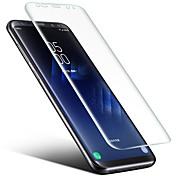 Protector de pantalla Samsung Galaxy para S8 Plus S8 TPU 1 pieza Protector de Pantalla Frontal Borde Curvado 2.5D Alta definición (HD)