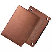 "MacBook Etui Ensfarget PU Leather til Ny MacBook Pro 15"" / Ny MacBook Pro 13"" / Macbook Pro 15 """