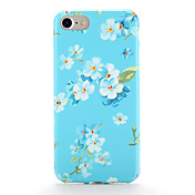 Para Carcasa Funda Diseños Cubierta Trasera Funda Flor Suave TPU para AppleiPhone 7 Plus iPhone 7 iPhone 6s Plus iPhone 6 Plus iPhone 6s