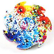 Håndspinnere / hånd Spinner for Killing Time / Stress og angst relief / Focus Toy Ring Spinner Plast Klassisk Deler Gutt Voksne Gave