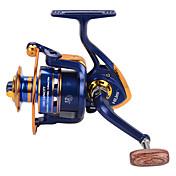 Carrete de la pesca Carretes para pesca spinning 5.21 12 Rodamientos de bolas IntercambiablePesca de baitcasting Pesca en hielo Pesca al