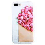 케이스 제품 Apple iPhone 7 Plus iPhone 7 패턴 뒷면 커버 꽃장식 소프트 TPU 용 iPhone 7 Plus iPhone 7 iPhone 6s Plus iPhone 6s iPhone 6 Plus iPhone 6