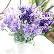 13inch 1 gren silke lavendel kunstige blomster hjemme dekorasjon