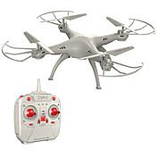 Dron 4 Canales 6 Ejes 2.4G - Quadccótero de radiocontrol Quadcopter RC Mando A Distancia 1 Manual 1 Cable de Carga USB Hélices 1