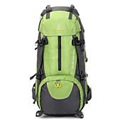 50L L 배낭 캠핑 & 하이킹 방수 착용 가능한 나일론