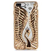 Etui Til Apple iPhone 7 Plus iPhone 7 Mønster Bakdeksel Dyr Myk TPU til iPhone 7 Plus iPhone 7 iPhone 6s Plus iPhone 6s iPhone 6 Plus