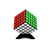 Cubo de rubik Shengshou Warrior 5*5*5 3*3*3 Cubo velocidad suave Cubos mágicos rompecabezas del cubo Competencia Regalo Unisex