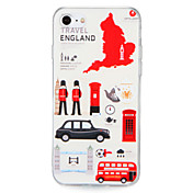 Funda Para Apple iPhone 7 Plus iPhone 7 Diseños Funda Trasera Bandera Vista de la ciudad Dura ordenador personal para iPhone 7 Plus
