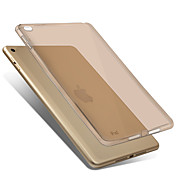 Funda Para Apple iPad Mini 4 Transparente Funda Trasera Color sólido Suave TPU para