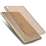 Etui Til Apple iPad Mini 4 Gjennomsiktig Bakdeksel Helfarge Myk TPU til