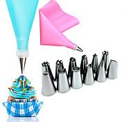 14 개 베이킹 & 패스트리 도구 꽃장식 케이크에 대한 스테인레스 웨딩 생일 발렌타인 데이