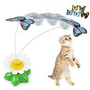 Katteleker Sommerfugl Plast Til Kat Kattunge