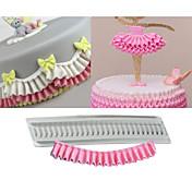 케이크 주형 쿠키에 대한 케이크에 대한 초콜릿에 대한 조리기구에 대한 초콜렛 쿠키 실리콘 고무 실리콘 DIY 생일 비 스틱 베이킹 도구 넌스틱