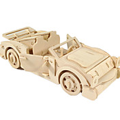 Lekebiler 3D-puslespill Puslespill Tremodeller Luftkraft Bil 3D GDS Tre Klassisk Gutt Unisex Gave