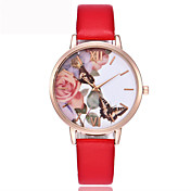 Vansvar Fashion Quartz Watch Casual Women Butterfly Wristwatch Luxury Bracelet Watch Leather Wrist Watch Relogio Feminino