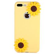 애플 아이폰 7 플러스 7 커버 패턴 다시 커버 케이스 꽃에 대 한 경우 3d 만화 부드러운 실리콘 6s 플러스 6 5 5s