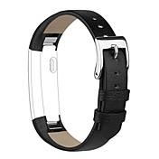Klokkerem til Fitbit Alta Fitbit Klassisk spenne Ekte lær Håndleddsrem