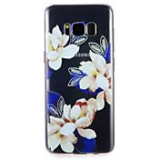 케이스 제품 Samsung Galaxy S8 Plus S8 패턴 뒷면 커버 꽃장식 소프트 TPU 용 S8 Plus S8 S7