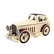 3D-puslespill Puslespill i tre Tremodeller Luftkraft Bil GDS 3D Tre Klassisk Barne Unisex Gave