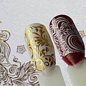 1 아트 스티커 네일 패턴 DIY 용품 스티커 메이크업 화장품 아트 디자인 네일