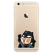 Para iPhone X iPhone 8 iPhone 8 Plus Carcasa Funda Transparente Diseños Cubierta Trasera Funda Caricatura Suave TPU para Apple iPhone X