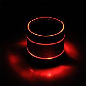 Al Aire Libre Interior Bluetooth Bluetooth 3.0 3.5mm AUX Subwoofer Negro Rosa Rojo