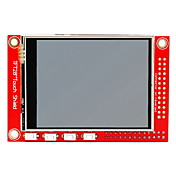 "2.8 tft 320 x módulo de ""pantalla táctil 240p para Raspberry Pi b + / b - rojo"