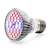 1pc 8 W 800-1200LM E14 / GU10 / E26 / E27 Growing Light Bulb 40 Cuentas LED SMD 5730 Blanco / Rojo / Azul 85-265 V / 1 pieza / Cañas / FCC