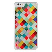 Funda Para Apple iPhone 7 Plus iPhone 7 Fosforescente Diseños Funda Trasera Diseño Geométrico Brillante Dura ordenador personal para