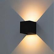 ONDENN 10W Focos LED Decorativa Residencial Al Aire Libre Iluminación Exterior Sala de Estar/Comedor Pasillo/Escaleras Garaje Blanco