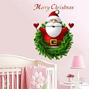 Navidad Pegatinas de pared Calcomanías de Aviones para Pared Calcomanías Decorativas de Pared,Papel Material Decoración hogareña Vinilos