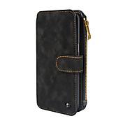 Etui Til Samsung Galaxy S8 Plus / S8 Lommebok / Kortholder / Flipp Heldekkende etui Ensfarget Hard PU Leather til S8 Plus / S8