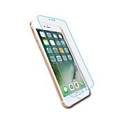 Protector de pantalla Apple para iPhone 7 Plus Vidrio Templado 1 pieza Protector de Pantalla Frontal Borde Curvado 2.5D Dureza 9H Alta