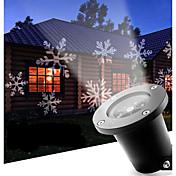 주도 눈송이 12w 야외 잔디 눈송이 램프 ac100-240v 시원한 흰색 1pcs