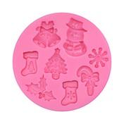 Moldes para pasteles Pastel Silicona Navidad Alta calidad