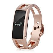 hhy d8 mote smarte armbånd menn / kvinner mote klokker ring påminnelser kampanje sove overvåking
