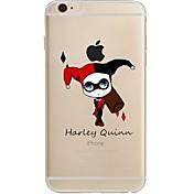 Funda Para Apple iPhone 7 Plus iPhone 7 Ultrafina Transparente Diseños Funda Trasera Caricatura Suave TPU para iPhone 7 Plus iPhone 7