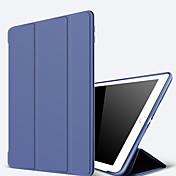 Funda Para Apple iPad Mini 4 Mini iPad 3/2/1 iPad 4/3/2 iPad Air 2 iPad Air con Soporte Activación al abrir/Reposo al cerrar Funda de
