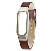 Xiaomi Wristbands XIAOMI2 Armbånd Anvendelig Lær Brun / Rød / Lysebrun
