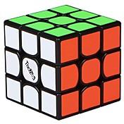 Cubo de rubik QI YI 3 3*3*3 Cubo velocidad suave Cubos mágicos Juguete Educativo rompecabezas del cubo Adhesivo suave Cuadrado Cumpleaños