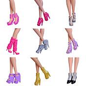 Corte Princesa Zapatos por Muñeca Barbie  Zapatos por Chica de muñeca de juguete