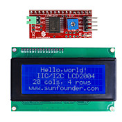 IIC / I2C serie lcd 2004 modul display for (for arduino) (fungerer med offisiell (for Arduino) boards)