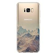 케이스 제품 Samsung Galaxy S8 S7 울트라 씬 투명 패턴 뒷면 커버 풍경 소프트 TPU 용 S8 Plus S8 S7 edge S7 S6 edge plus S6 edge S6 S6 Active S5 Mini S5 Active S5
